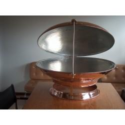 Cataplanas em cobre artesanais